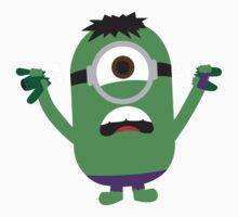 Hulk Minion by freddyballs