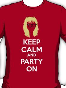 Keep Calm, and Party On T-Shirt