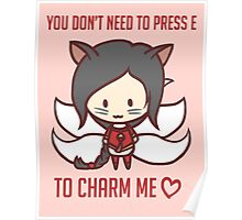 Ahri: League of Valentines Poster