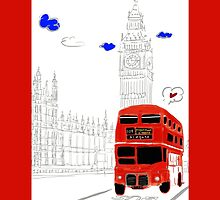 Lovely London  by Fanco