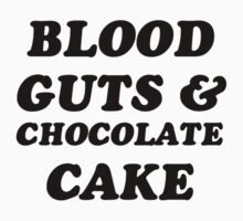 Marina and the Diamonds - Blood Guts & Chocolate Cake by dellycartwright
