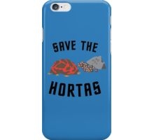 Save The Hortas (Star Trek) iPhone Case/Skin