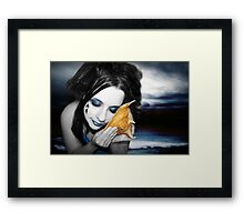 Hear the song of the siren Framed Print
