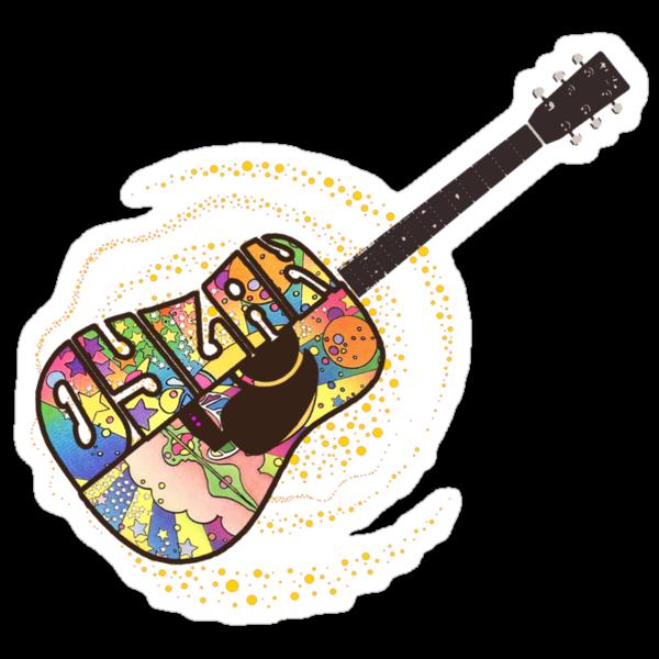 Dylan Psych Guitar by ixrid