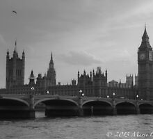 Old London by Marie  Cardona