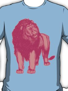 Pink Lion T-Shirts by Cheerful Madness!! T-Shirt