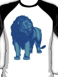 Light Blue Lion T-Shirts by Cheerful Madness!! T-Shirt