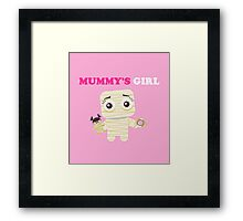 MUMMY´S GIRL Framed Print
