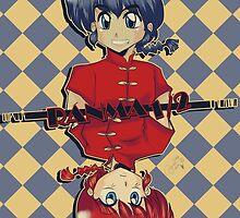 Ranma 1/2 by KanaHyde