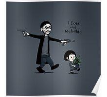 Leon and Mathilda Poster