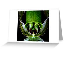 Commando - Orchid Alien Discovery Greeting Card