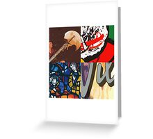 Erasure Beginnings Pop Art Greeting Card