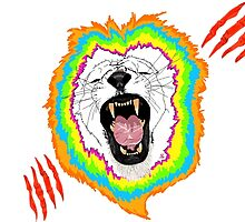 Lion In Technicolor by ciaca