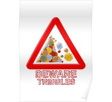 Warning triangle Poster