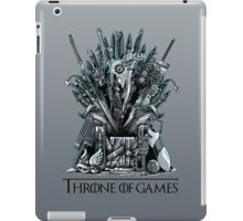 Throne of Games - You Win Or You Die iPad Case/Skin