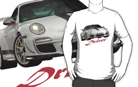 Stylish Porsche 911 GT3RS 4,0 driver shirt by Stefan Bau