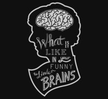 What is it like in your funny little brains? by sberriman