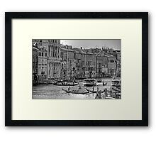 Messing about in boats - B&W Framed Print