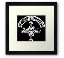 Sons of Shirohige Framed Print