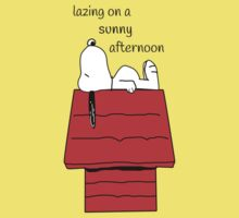 Snoopy - lazing Kids Clothes
