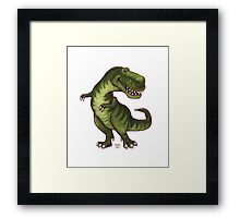 Animal Parade Tyrannosaurus Framed Print