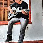 musician II - músico by Bernhard Matejka