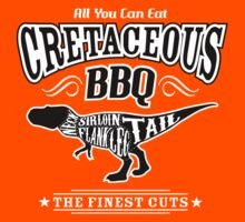 Cretaceous BBQ - Tyrannosaurus Dinosaur Meat Barbecue by TropicalToad