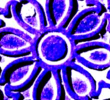 Coalhole cover - large blue logo Sticker