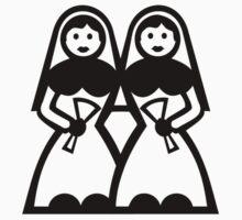 Lesbian wedding by Designzz