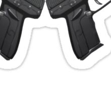 Sword Art Online II Logo and Gun Sticker