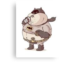 Batman The Fat Knight Canvas Print