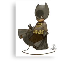 Little Batman Canvas Print