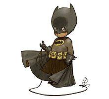 Little Batman Photographic Print