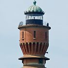 Lighthouse in Dunkerque France. by M. van Oostrum