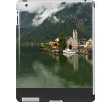 Hallstatt is the most picturesque village of Austria iPad Case/Skin