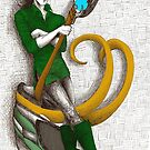 Good to be Bad - Loki (colour version) by NadddynOpheliah