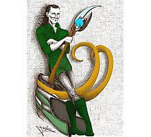 Good to be Bad - Loki (colour version) Photographic Print