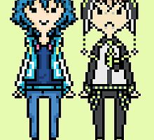 NoiAo Pixel Sprites by supalurve