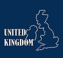 UK Dot map by Rebekhaart