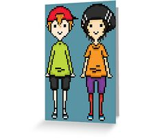KevEdd Pixel Sprites Greeting Card
