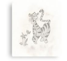 Tigger Canvas Print