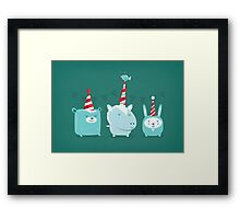 Born to Party Framed Print