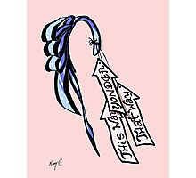 Alice's Bow and Arrows Photographic Print