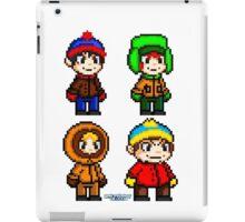South Park Boys - Pixel Art iPad Case/Skin