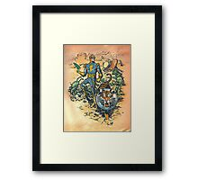 Calvin: The Spiffy Spaceman Framed Print