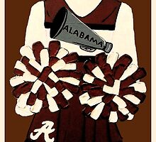 Alabama Cheerleader by Tami Dalton