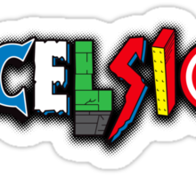 Excelsior! Sticker