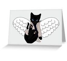 Castiel Kitty Greeting Card