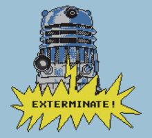 Time And Relative Pixels: Dalek Kids Clothes