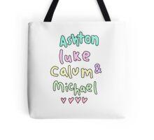 Ashton Luke Calum & Michael  Tote Bag